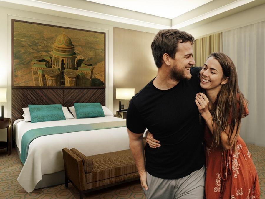 """ซาอุฯ อนุญาต """"ชาย-หญิง"""" ต่างชาติ พักห้องเดียวกันได้ในโรงแรม"""